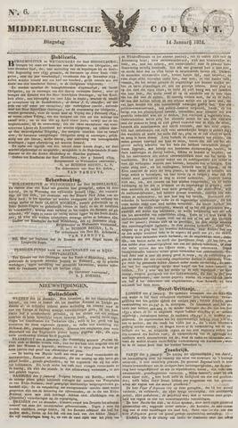 Middelburgsche Courant 1834-01-14