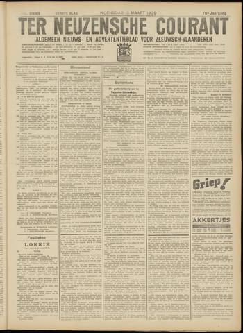 Ter Neuzensche Courant. Algemeen Nieuws- en Advertentieblad voor Zeeuwsch-Vlaanderen / Neuzensche Courant ... (idem) / (Algemeen) nieuws en advertentieblad voor Zeeuwsch-Vlaanderen 1939-03-15