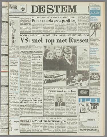 de Stem 1984-02-13