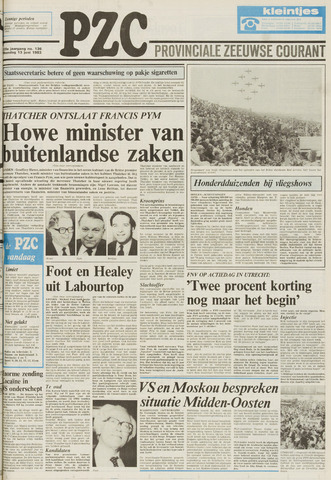 Provinciale Zeeuwse Courant 1983-06-13
