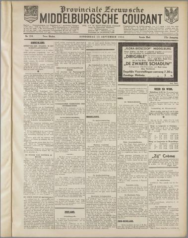 Middelburgsche Courant 1932-09-15