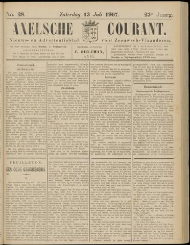 Axelsche Courant 1907-07-13