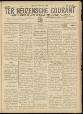 Ter Neuzensche Courant. Algemeen Nieuws- en Advertentieblad voor Zeeuwsch-Vlaanderen / Neuzensche Courant ... (idem) / (Algemeen) nieuws en advertentieblad voor Zeeuwsch-Vlaanderen 1934-05-23