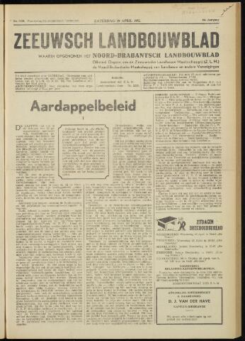 Zeeuwsch landbouwblad ... ZLM land- en tuinbouwblad 1952-04-19