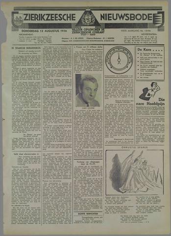 Zierikzeesche Nieuwsbode 1936-08-13