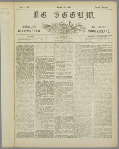 De Zeeuw. Christelijk-historisch nieuwsblad voor Zeeland 1897-10-19