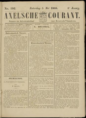 Axelsche Courant 1888-05-05