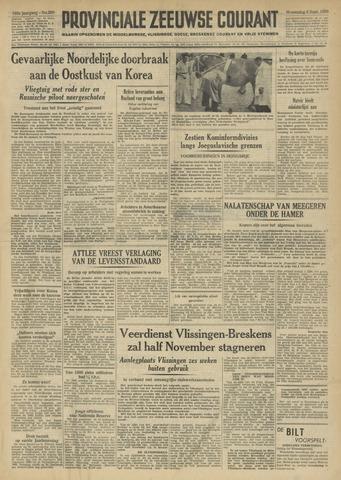 Provinciale Zeeuwse Courant 1950-09-06