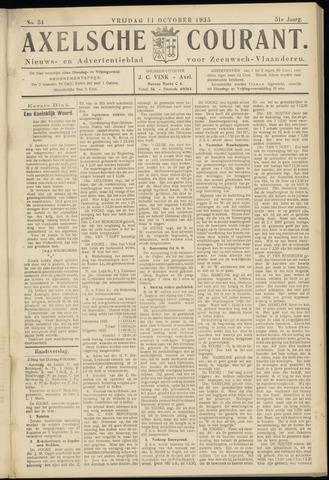 Axelsche Courant 1935-10-11
