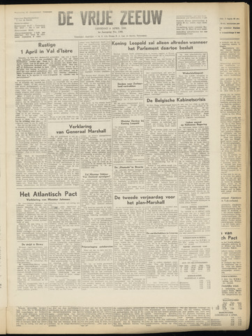 de Vrije Zeeuw 1950-04-04