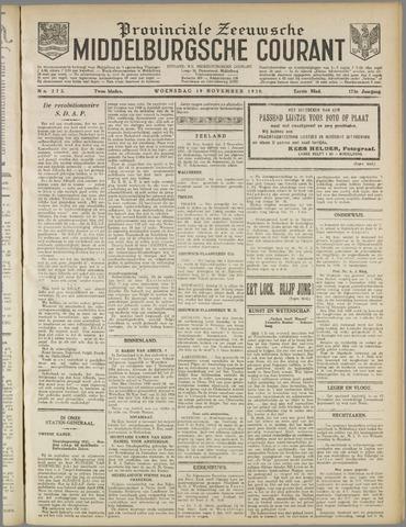Middelburgsche Courant 1930-11-19