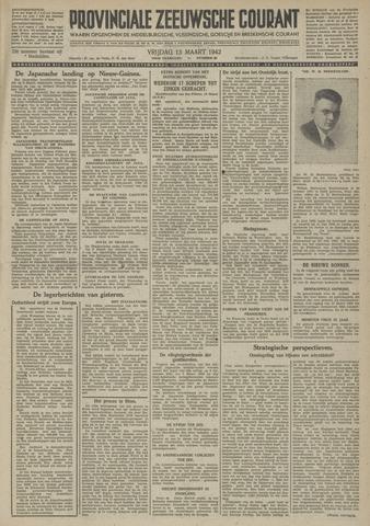 Provinciale Zeeuwse Courant 1942-03-13