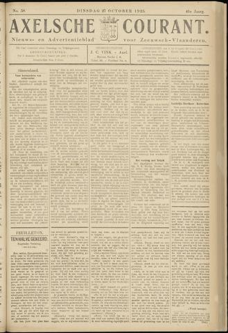 Axelsche Courant 1925-10-27