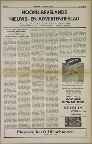 Noord-Bevelands Nieuws- en advertentieblad 1962-12-15