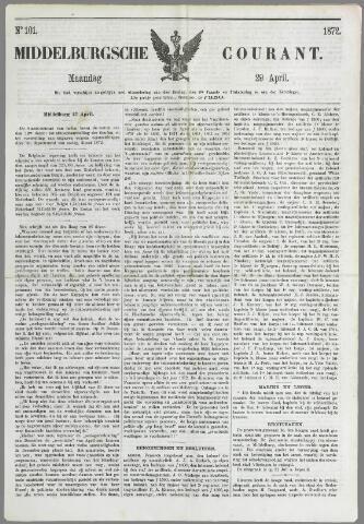 Middelburgsche Courant 1872-04-29