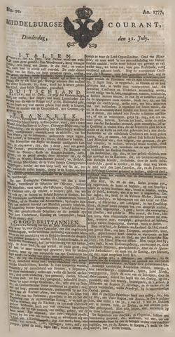 Middelburgsche Courant 1777-07-31