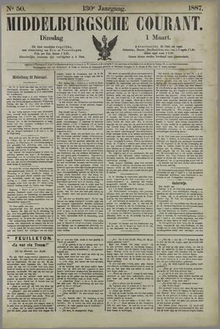 Middelburgsche Courant 1887-03-01