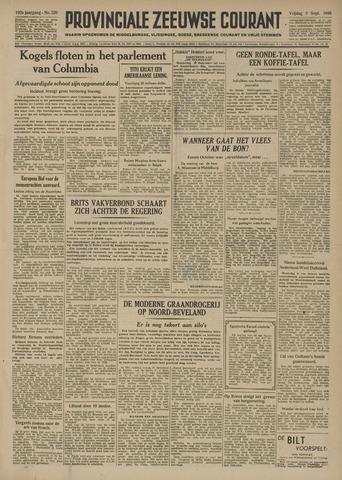 Provinciale Zeeuwse Courant 1949-09-09