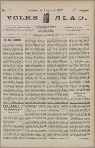 Volksblad 1922-08-05