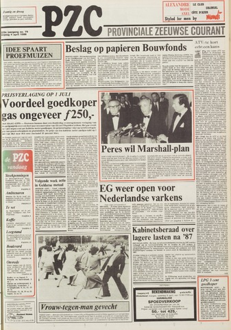 Provinciale Zeeuwse Courant 1986-04-04