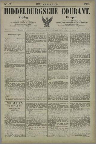 Middelburgsche Courant 1884-04-18