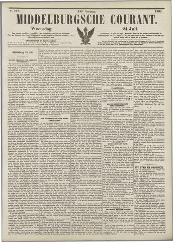 Middelburgsche Courant 1901-07-24