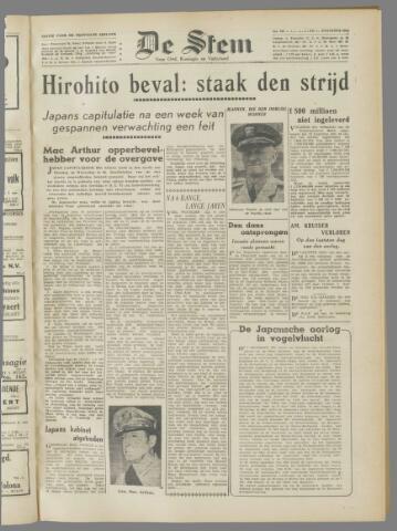 de Stem 1945-08-16