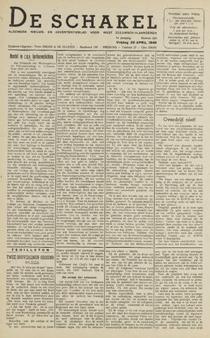De Schakel 1949-04-29
