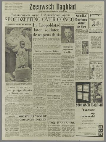 Zeeuwsch Dagblad 1960-09-10