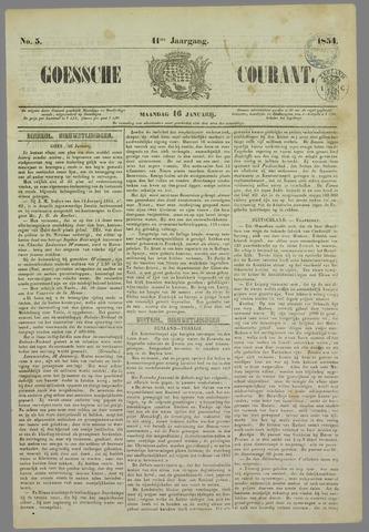 Goessche Courant 1854-01-16