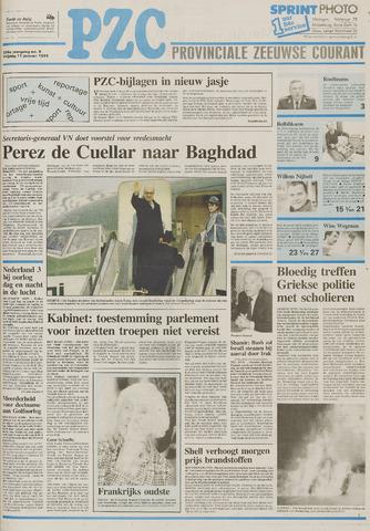 Provinciale Zeeuwse Courant 1991-01-11