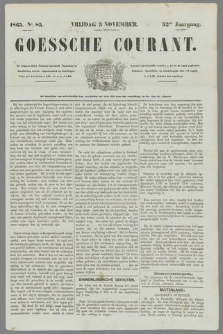 Goessche Courant 1865-11-03