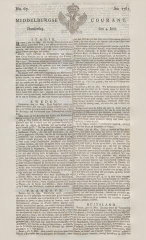 Middelburgsche Courant 1761-06-04