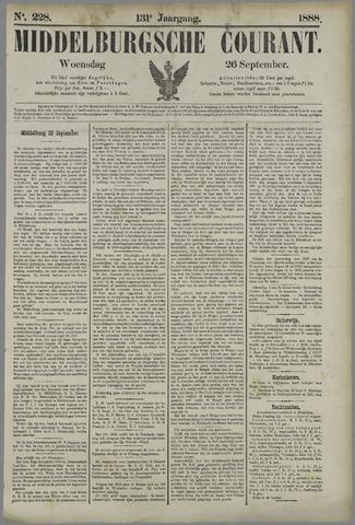 Middelburgsche Courant 1888-09-26