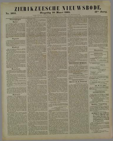 Zierikzeesche Nieuwsbode 1885-03-10
