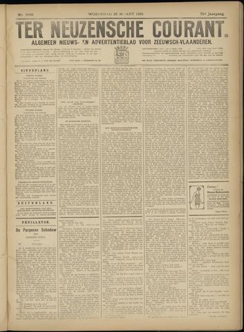 Ter Neuzensche Courant. Algemeen Nieuws- en Advertentieblad voor Zeeuwsch-Vlaanderen / Neuzensche Courant ... (idem) / (Algemeen) nieuws en advertentieblad voor Zeeuwsch-Vlaanderen 1931-03-25