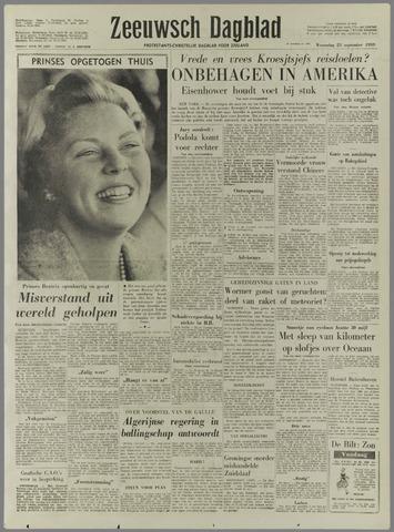Zeeuwsch Dagblad 1959-09-23