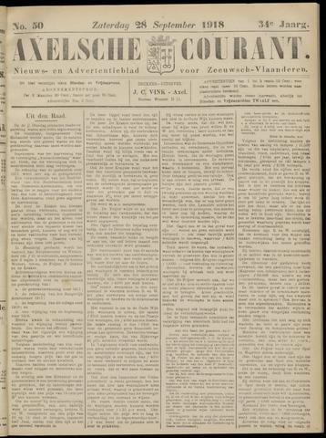 Axelsche Courant 1918-09-28