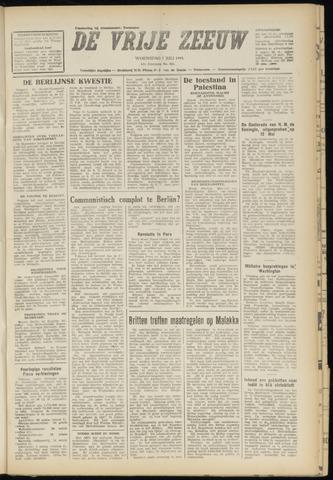 de Vrije Zeeuw 1948-07-07