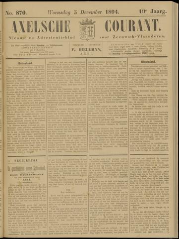 Axelsche Courant 1894-12-05