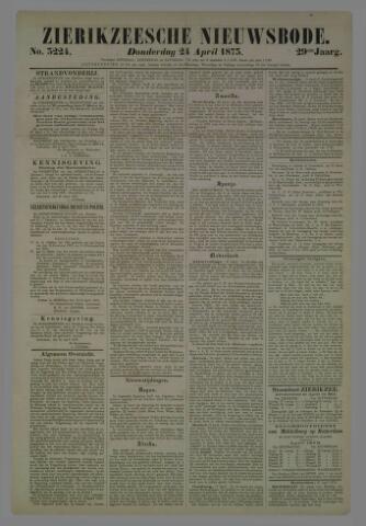 Zierikzeesche Nieuwsbode 1873-04-24