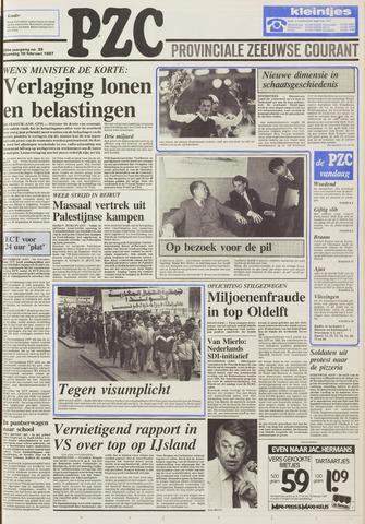 Provinciale Zeeuwse Courant 1987-02-16