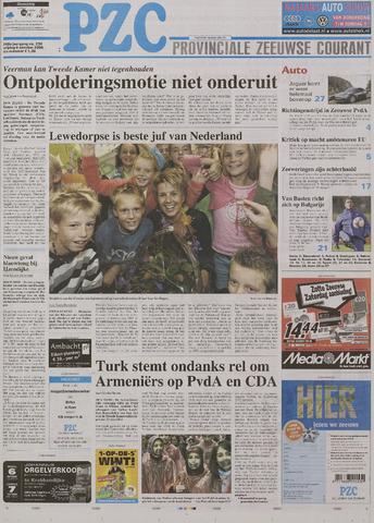 Provinciale Zeeuwse Courant 2006-10-06