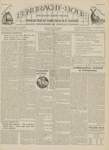 Eendrachtbode (1945-heden)/Mededeelingenblad voor het eiland Tholen (1944/45) 1959-11-27