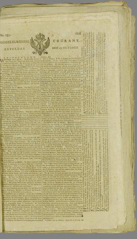 Middelburgsche Courant 1806-10-25
