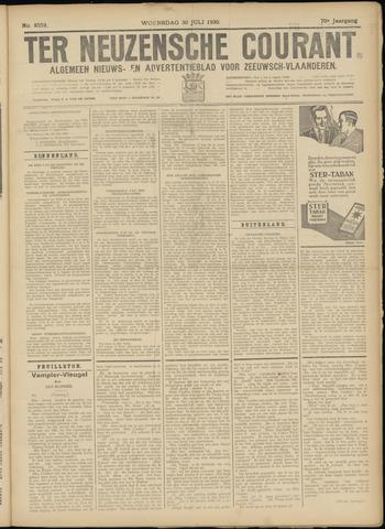 Ter Neuzensche Courant. Algemeen Nieuws- en Advertentieblad voor Zeeuwsch-Vlaanderen / Neuzensche Courant ... (idem) / (Algemeen) nieuws en advertentieblad voor Zeeuwsch-Vlaanderen 1930-07-30