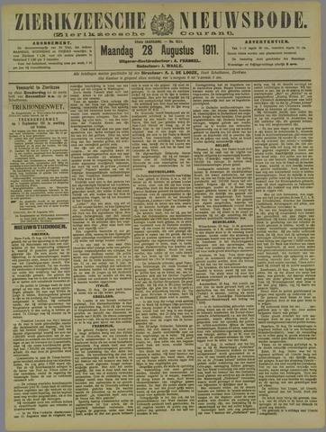 Zierikzeesche Nieuwsbode 1911-08-28