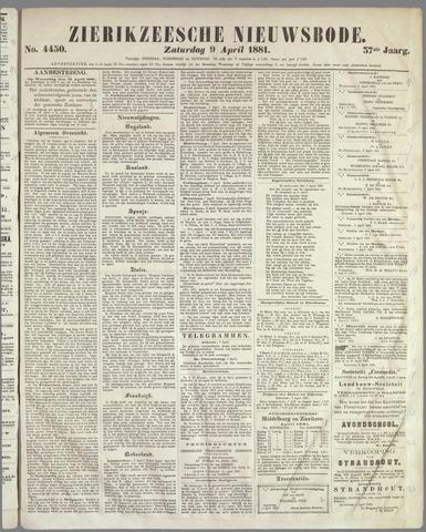 Zierikzeesche Nieuwsbode 1881-04-09