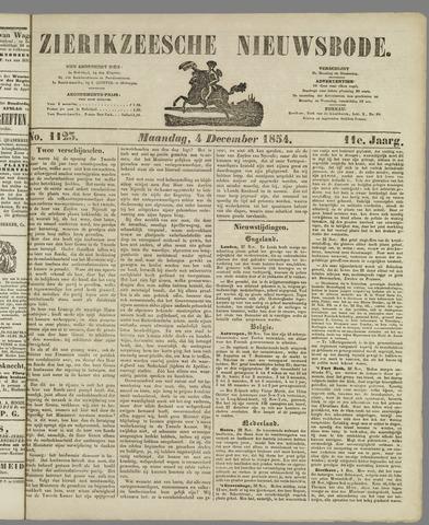 Zierikzeesche Nieuwsbode 1854-12-04