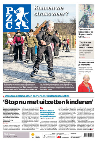 Provinciale Zeeuwse Courant 2019-01-21